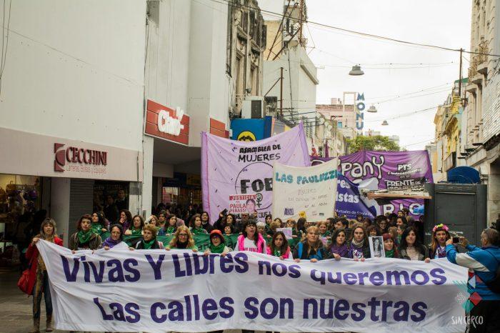 3J: en las calles y exigiendo