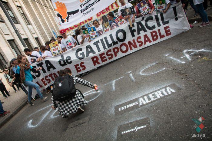 Marcha Nacional contra el Gatillo Fácil