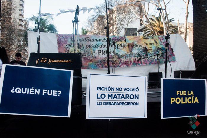 "Festival ""Justicia para Pichón"""