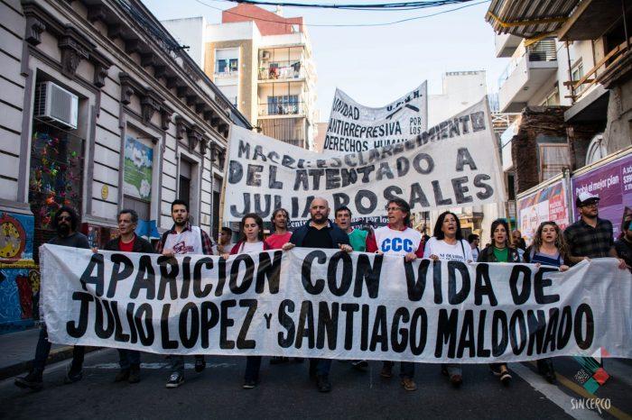 ¿Dónde están Julio López y Santiago Maldonado?