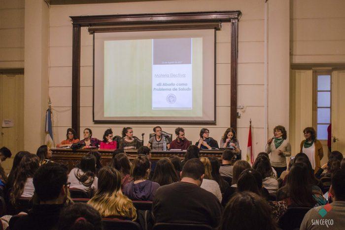 Nueva cátedra sobre aborto en Rosario