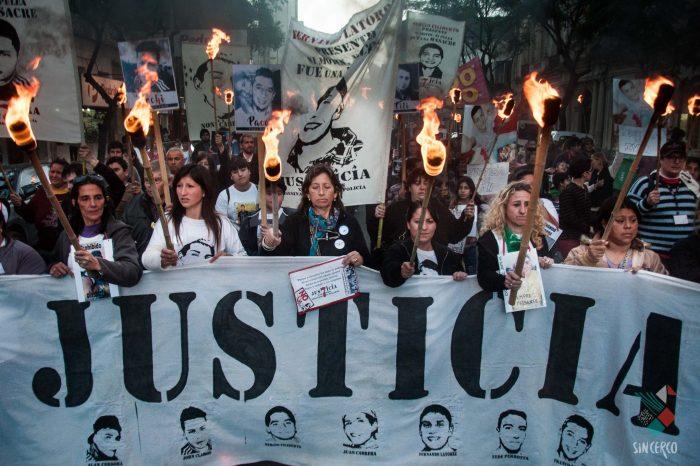 Marcha Justicia por los 7