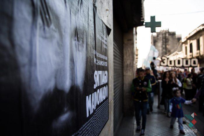 Cobertura audiovisual: Dos meses sin Santiago Maldonado