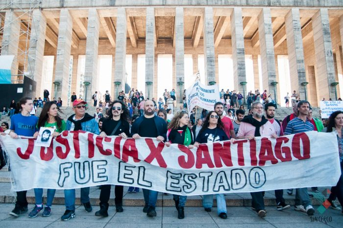 #JusticiaPorSantiago