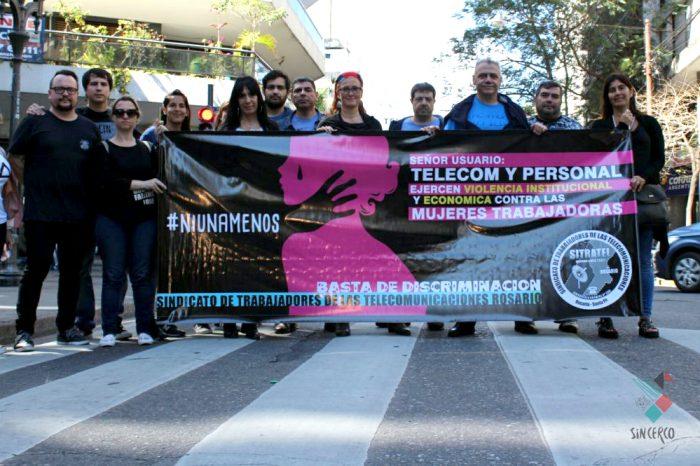 Telecom:represaliacontra las mujeres en huelga