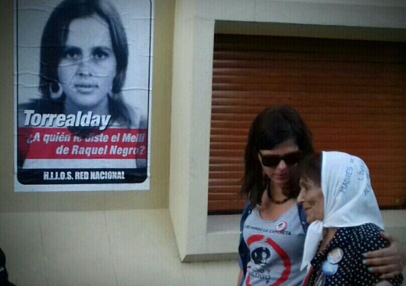 Escrache a represor en Paraná