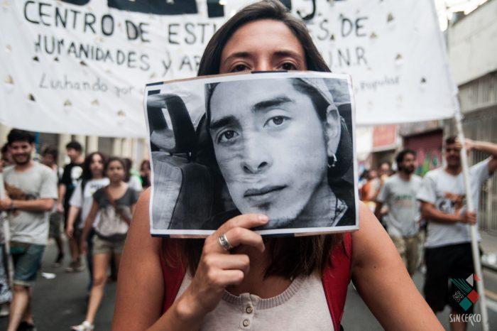 Marcha por Santiago y Rafael