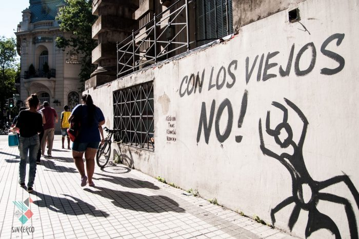 Cobertura audiovisual #NoALaReformaPrevisional en Rosario