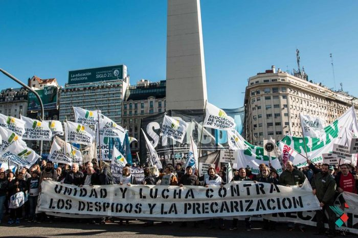 #8J: Marcha Sindicatos de Prensa