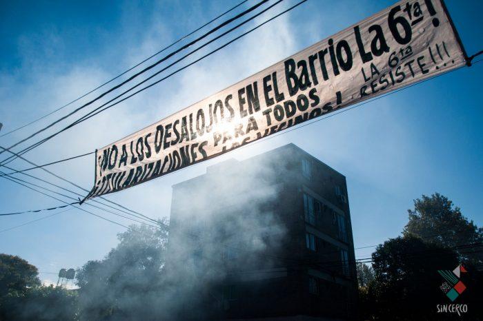 Fuerte represión a habitantes del Barrio La Sexta