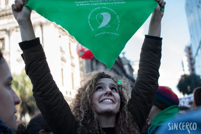 #AbortoSesionHistorica