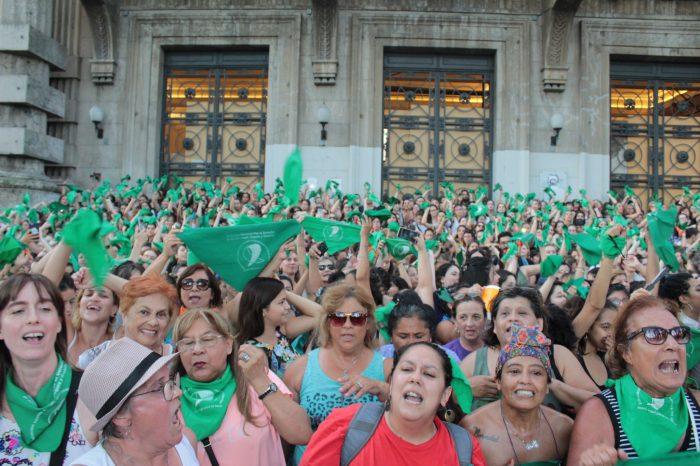 Día de Acción Verde por el Derecho al Aborto: acciones en 120 puntos del país
