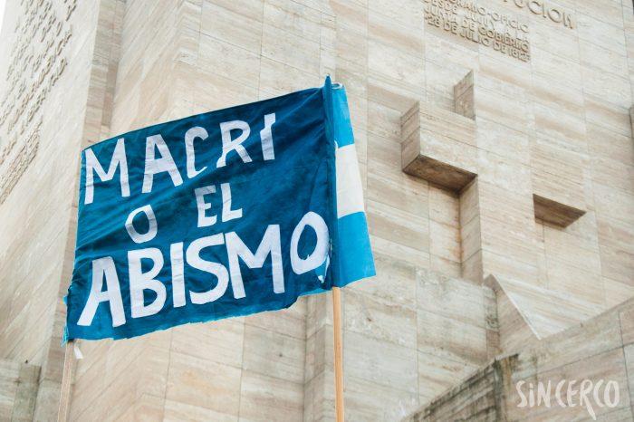 Concentración a favor de Macri 24A
