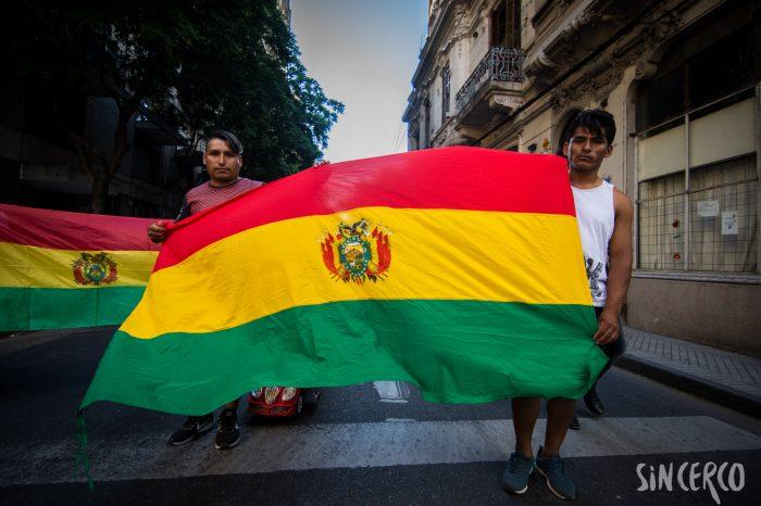 Rosario dijo no al golpe de Estado en Bolivia