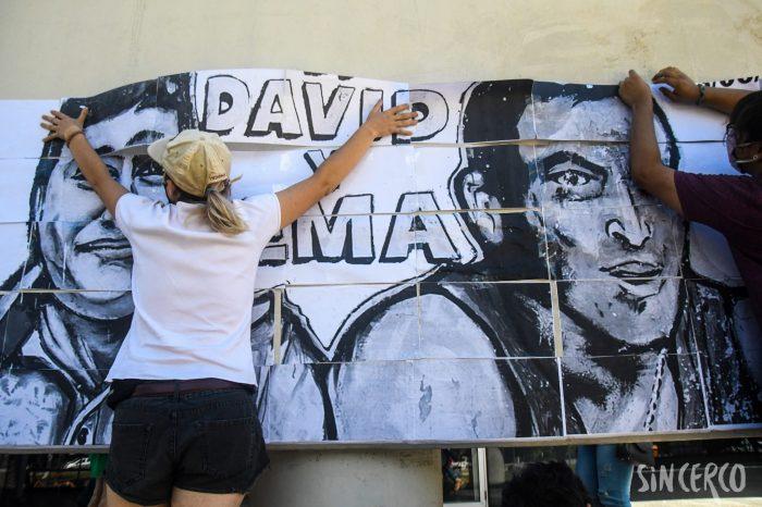 Memoria, Verdad y Justicia por David y Emanuel.